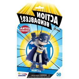 ACTION BENDABLES JUSTICE LEAGUE BATMAN 4 INCH FIGURE  N J CR