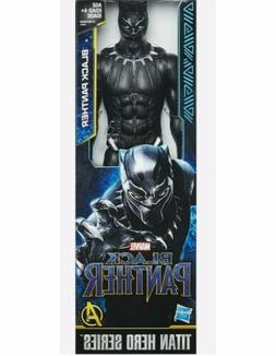 BLACK PANTHER Marvel Avengers Titan Hero Series 12 Inch Hasb