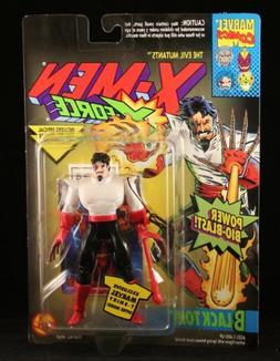 BLACK TOM & POWER BIO-BLAST X-Men X-Force Action Figure & Of