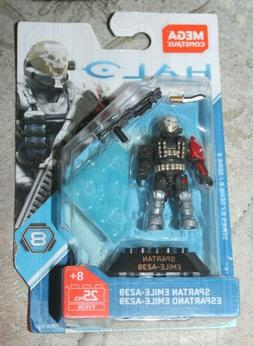 Mega Bloks Construx Halo Heroes Series 8 Spartan Emile A239