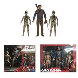 "BLOODY ASH vs DEMON SPAWN Evil Dead NECA AVED 2016 7"" Inch A"