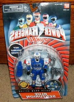"Power Rangers Blue Senturion Turbo 5.5"" Action Figure"