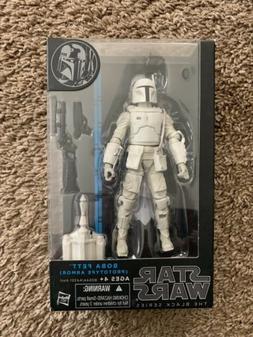 Star Wars Boba Fett Prototype Armor action figure black seri