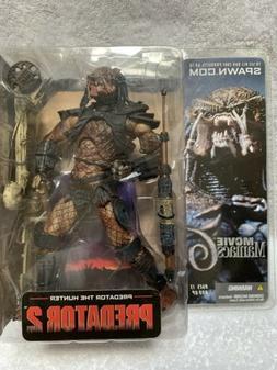 Brand New McFarlane Toys Predator the Hunter Alien and Preda