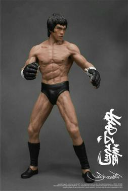 Bruce Lee Action Figure Collector Model Kung Fu PVC Statue D