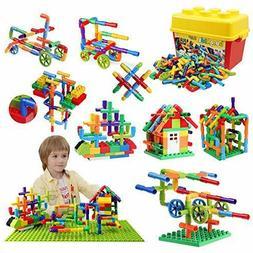 burgkidz 176 Piece Pipe Tube Sensory Toy Lock Educational ST