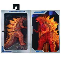 "NECA Burning Godzilla 2019 King Of Monster 6"" Action Figure"