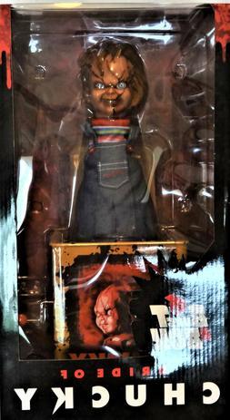 Mezco Burst A Box Scarred Chucky Figure