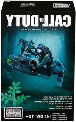 Mega Bloks Call of Duty Seal Specialist  #CNG72 41 Pieces Ne