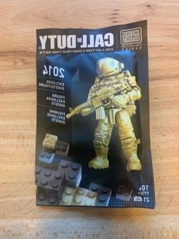 MEGA BLOKS Call Of Duty Cod NYCC EXCLUSIVE GOLD GHOST Astron