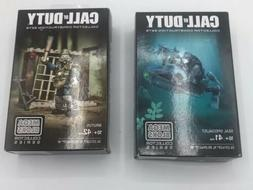 Mega Bloks Call Of Duty Collector Construction Sets Lot Of 2