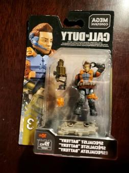 MEGA CONSTRUX CALL OF DUTY SERIES 3 Specialist Battery  FVF9