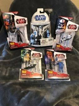 Star Wars Captain Argyus, Arf Trooper, Clone Trooper Denal,