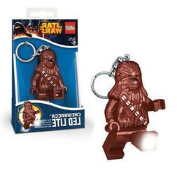 Lego Star Wars Chewbacca Key Light Ring LED Lite Chain Bag B