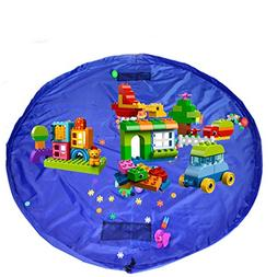 bloomoon Children's Play Mat,Toys Storage Bag,Picnic Mat,60-