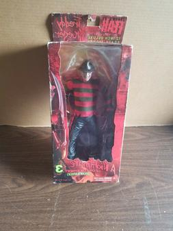 "Mezco Cinema Of Fear 12"" Deluxe Freddy Krueger Action Figu"