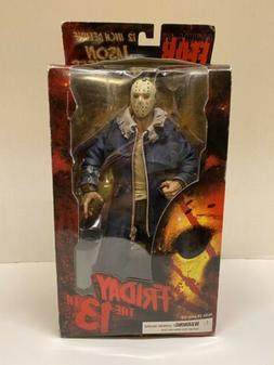 """Mezco Cinema Of Fear 12"""" Deluxe Jason Voorhees Friday The 13"""