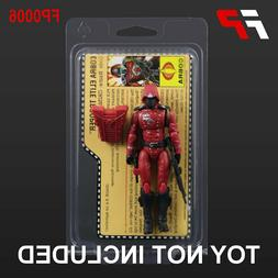 "CLAMSHELL ACTION FIGURE PROTECTIVE CASES, 3.75"" GI JOE with"