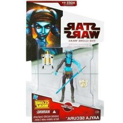 Star Wars The Clone Wars Aayla Secura CW40 - 3-3/4 Inch Scal
