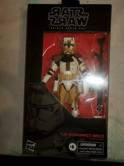 Clone Commander Bly Star Wars The Black Series Clone Wars 6-