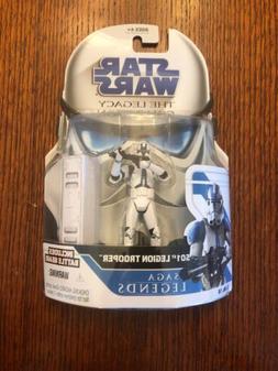 Star Wars Clone Wars Saga Legends Action Figure 501st Troope