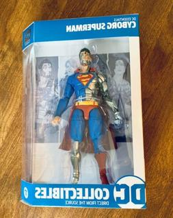 """Dc Collectibles 20th DC ESSENTIALS CYBORG SUPERMAN 6.75"""" ACT"""