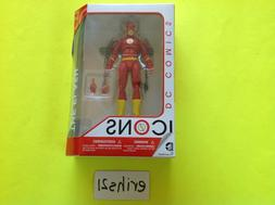 "DC Comics Collectibles Icons #05 The Flash 6"" Action Figure"