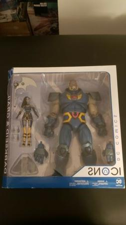 Dc Collectibles DC ICONS Darkseid And Grail 2 Pack MINT SEAL