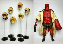Mezco Comic Hellboy with Floating Heads Action Figure 2006 S