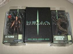 Complete ALIEN RESURRECTION Action Figures SET By neca Riple