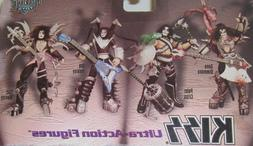 Complete Music Kiss Ultra Action Figure Set of 4 w/ Instrume