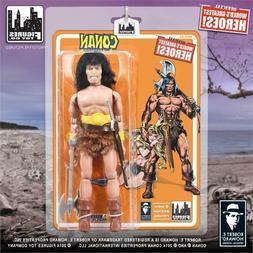 Conan The Barbarian 8 Inch Action Figure Mego Retro New FTC