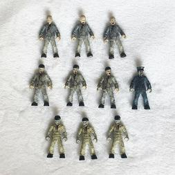 Mega Bloks Construx Call of Duty Zombies 10 action figures l