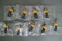 Mega Bloks Construx Star Trek Hikaru Sulu 9 action figures l