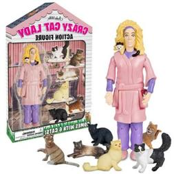Crazy Cat Lady Collectible Novelty Action Figure by Archie M
