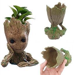 Funtoyworld Creative Groot Planter Pot Baby Groot Flowerpot
