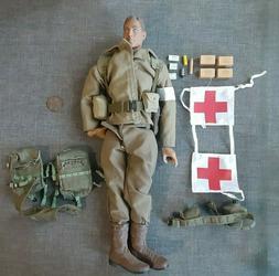 "Custom BBi Elite Force 1/6 Scale 12"" U.S Army Medic Action F"