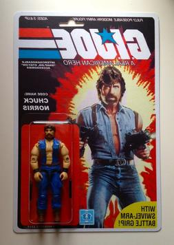 Custom made Chuck Norris 3 3/4 GI Joe Vintage Style ARAH Act