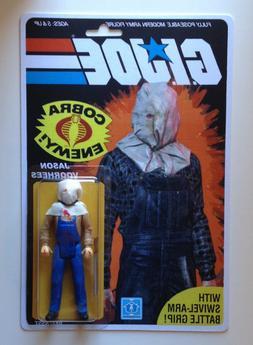Custom made Jason Voorhees 3 3/4 GI Joe Vintage Style ARAH A