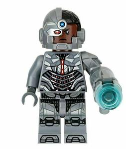 Cyborg DC Superhero Mini Action Figure Toy Batman Series Jus