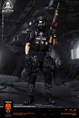 Dam Toys Ghost Series Titans PMC Frank Casey 1/6 Scale SF002