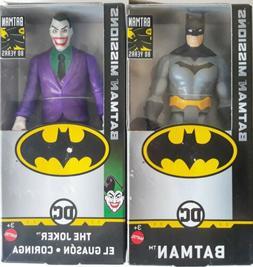 """DC BATMAN & THE JOKER 6"""" Inch Scale Batman Missions Figures"""