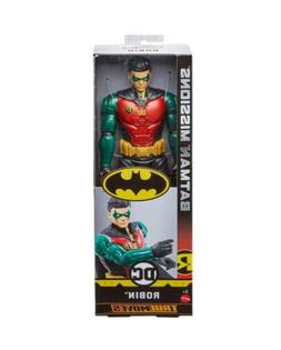 """DC Batman Missions True Moves ROBIN 12"""" Inch Scale Action Fi"""