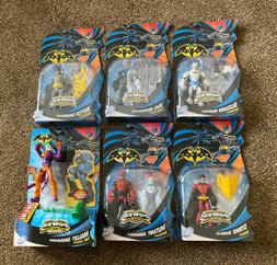 DC Batman Power Attack Series Action Figures Lot Of  NEW~6 I