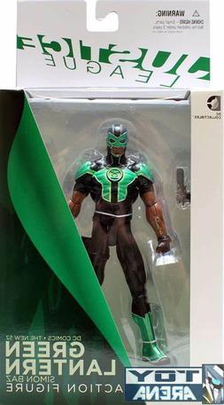 dc collectibles justice league green lantern simon