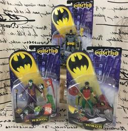 DC Comics 2003 Batman Joker Robin 6 Inch Action Figures Coll