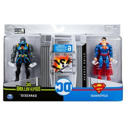 DC Comics 4-Inch Superman vs. Darkseid by Spinmaster