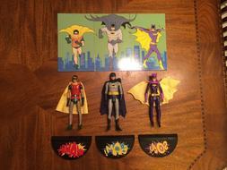 Mattel DC Comics Batman TV Series Action Figures Batman Robi