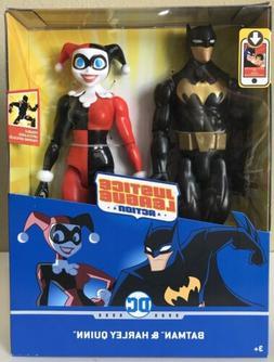 "Mattel-DC Comics Justice League Action 12"" Batman & Harley"