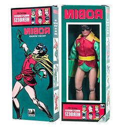 DC Comics Mego Style Boxed 8 Inch Action Figures: Robin